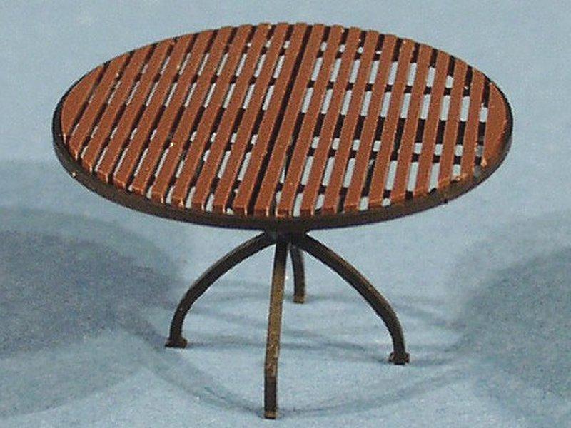 luetke modellbahn tisch rund gro. Black Bedroom Furniture Sets. Home Design Ideas