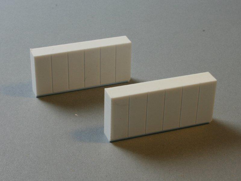 Luetke modellbahn sideboard niedrig 2 st ck for Sideboard niedrig