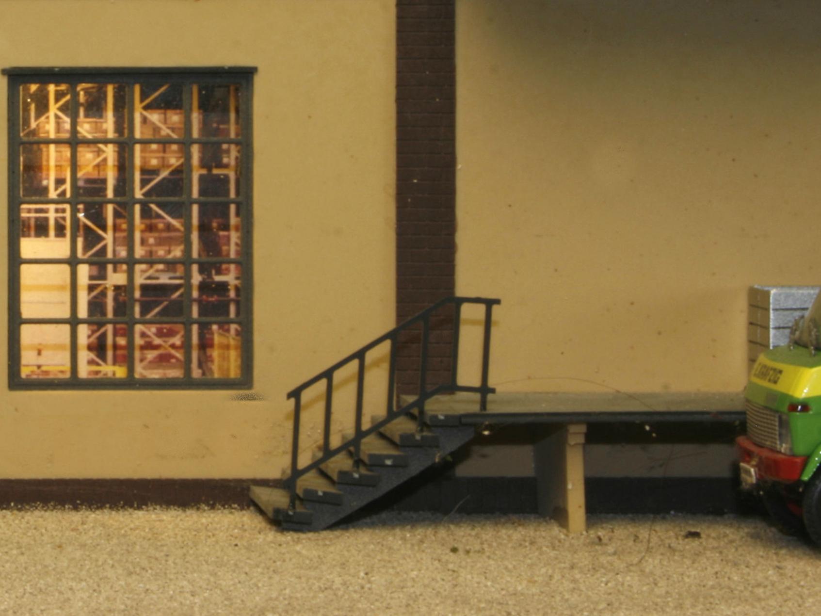 luetke modellbahn aussentreppe. Black Bedroom Furniture Sets. Home Design Ideas